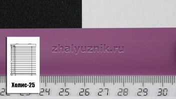 Горизонтальные жалюзи Холис-25, цвет фиолетовый, матовый, артикул-4858 (Амиго)
