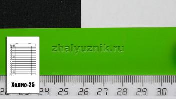 Горизонтальные жалюзи Холис-25, цвет зеленый, глянец, артикул-5713 (Амиго)