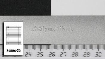 Горизонтальные жалюзи Холис-25, цвет золото-серебро, металлик, артикул-46x48 (Интерсклад)