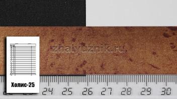 Горизонтальные жалюзи Холис-25, цвет рисунок, металлик, артикул-NT-908 (Интерсклад)