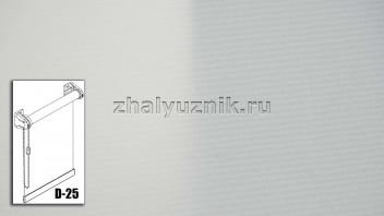 Рулонная штора системы D-25 с тканью - Плэйн-роллекс Бежевый (Интерсклад)