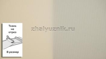 Ткань - Плэйн-роллекс Абрикосовый для рулонных штор на отрез по размерам (Интерсклад)