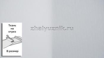 Ткань - Плэйн-роллекс Белоснежный для рулонных штор на отрез по размерам (Интерсклад)