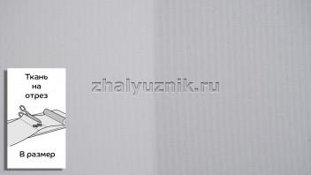 Ткань - Плэйн-роллекс Светло-серый для рулонных штор на отрез по размерам (Интерсклад)