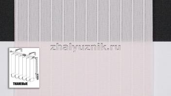 Вертикальные жалюзи тканевые, материал Лайн-2 розовый (Амиго)