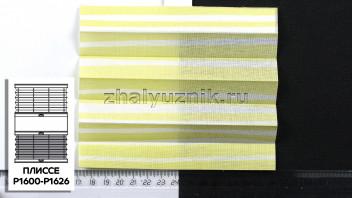Жалюзи плиссе с тканью Веранда, цвет Светло-зелёный для вертикальных и откидных окон, каталог Амиго